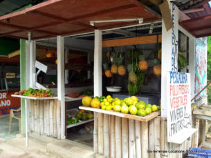 las-terrenas Fruits Stand
